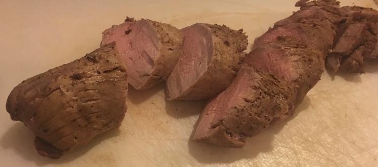 Pork Tenderloin Sliced